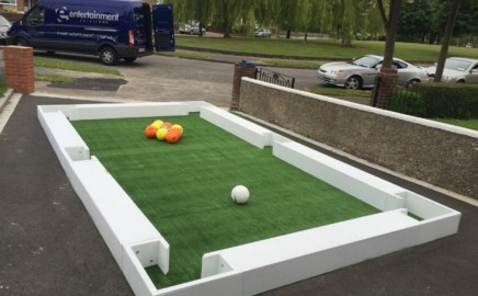 Our brand new Footpool table, available for hire nationwide!